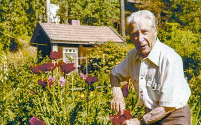 Kuvataiteilija Urho Lehtisen puutarha
